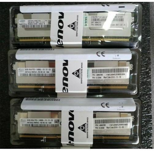 IBM / Lenovo 46W0760 46W0761 46W0763 32GB 4RX4 DDR3 PC3-14900 ECC RAM