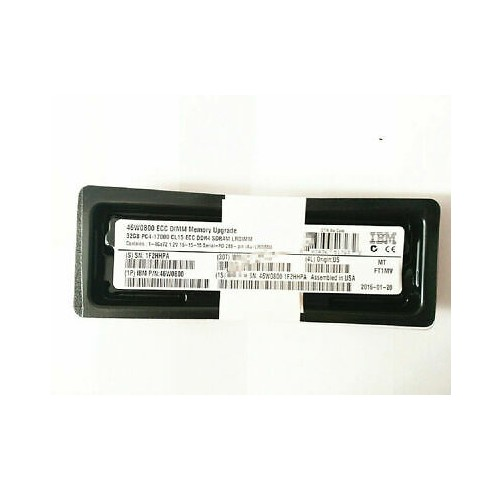 IBM / Lenovo 46W0800 46W0802 47J0254 32GB 4Rx4 DDR4 PC4-2133P ECC RAM Memory