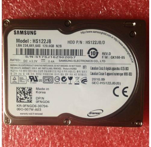 "Dell FNGD6 HS122JB 1,8"" PATA 120GB 4200 Laptop Festplatten Latitude XT D430 D420"