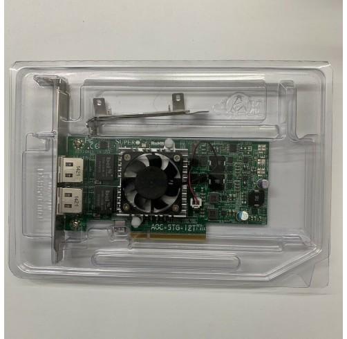 SUPERMICRO 10GbE AOC-STG-I2T RJ45 10GBASE-T ETHERNET ADAPTER 10GbE Intel X540