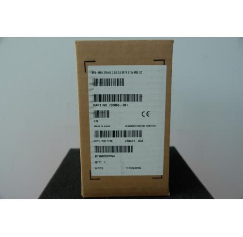 765455-B21/765869-001 : HPE 2TB SATA 6G Midline 7.2K