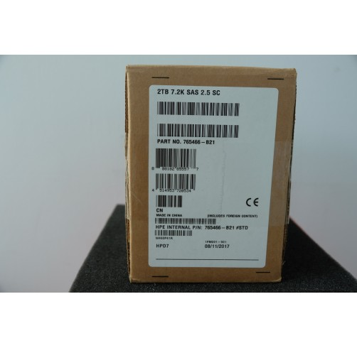 765466-B21/: HPE 2TB SAS 12G Midline 7.2K SFF